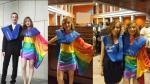 Joven lesbiana se gradúa con vestido de arcoíris y esto fue lo que pasó - Noticias de loureno marques