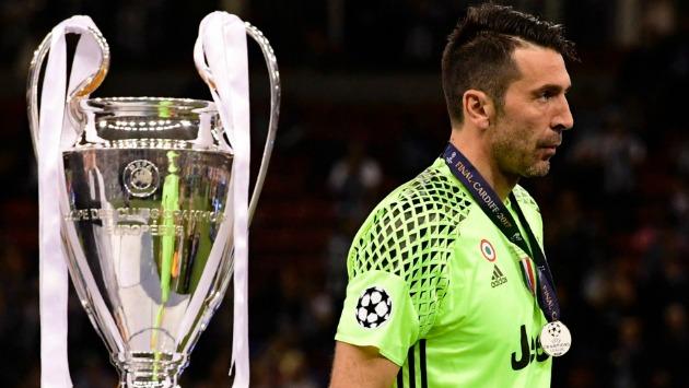 Buffon termina su contrato con la 'Vieja Señora' en junio del 2018. (AFP)