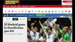 Champions League: Real Madrid campeonó y así informó la prensa internacional [FOTOS] - Noticias de clarence seedorf