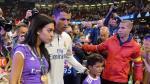 Cristiano Ronaldo y el romántico beso a su novia en la celebración de la Champions [VIDEO] - Noticias de georgina rodríguez