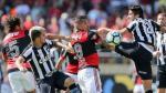 Paolo Guerrero y Miguel Trauco no marcaron la diferencia y Flamengo empató 1-1 con Botafogo - Noticias de victor araujo rodriguez