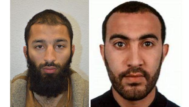 Policía identifica a dos de los terroristas que mataron a 7 personas. (London Police / Twiiter)