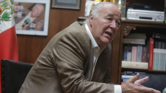 García Belaunde critica duramente al Gobierno por el caso Chinchero. (David Huamaní)
