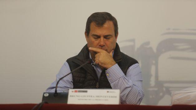 Bruno Giuffra viajó a Cusco para explicar construcción del aeropuerto de Chinchero. (Perú21)