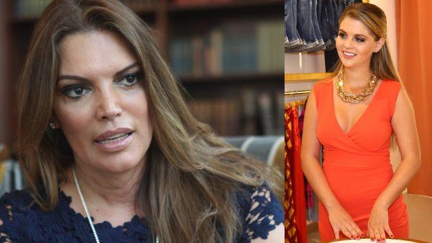 Jessica Newton solicita a Brunella Horna que evalúe su participación en el certamen Miss Perú. (USI)