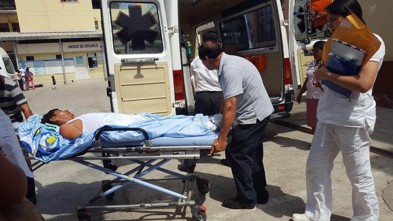 Estudiantes universitarios fueron baleados por resistirse a ser asaltados en Chiclayo. (Trome)