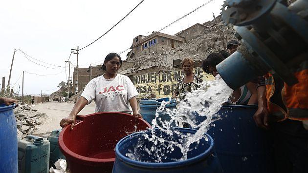 Sedapal bajará la tarifa de agua entre 6% y 7%, a partir de julio. (USI)