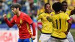 Colombia igualó 2-2 con España en partido amistoso jugado en Murcia - Noticias de dani sanchez