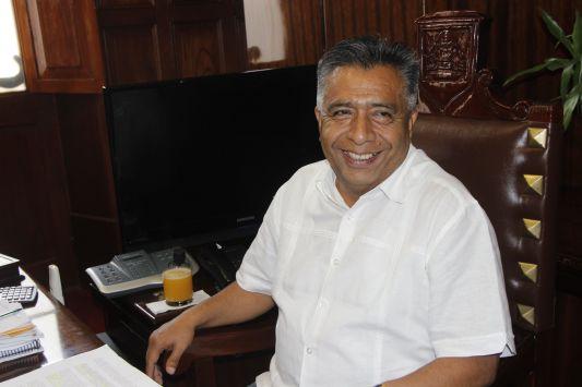 Alcalde David Cornejo le responde a la oposición. (USI)
