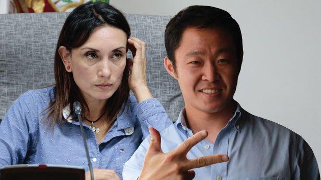 Patricia Donayre reveló que solo Kenji fujimori la respaldó abiertamente. (USI)