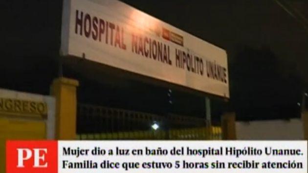 Adolescente dio a luz en el ba o de hospital hip lito - Banos del hospital ...