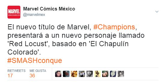 El Chapulín Colorado se une a los superhéroes de Marvel (FOTOS)