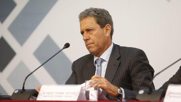 Ministro de Economía indica que Francia está interesada en invertir en el Perú. (Mario Zapata/Perú21)