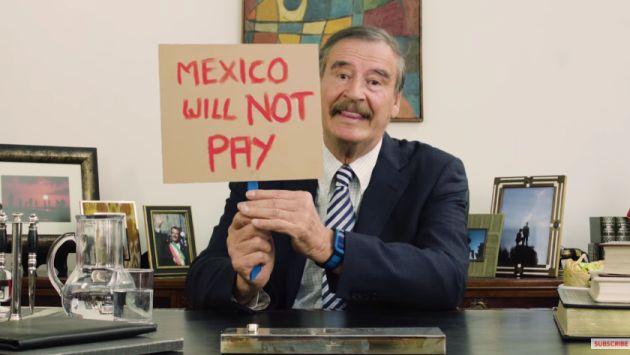 Youtube: Ex presidente de México Vicente Fox manda un irónico mensaje a Donald Trump [VIDEO]