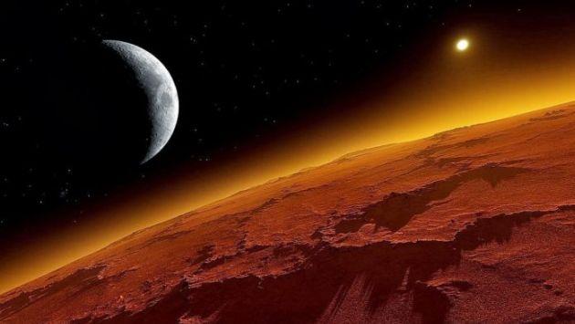 Investigación revela cómo se habrían formado las lunas de Marte. (Referencial)