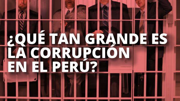 La corrupción es el principal problema del Perú, según INEI. (USI)