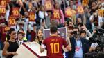 ¿Sabías que Francesco Totti quería despedirse de la Roma de una forma aun más emotiva? - Noticias de puma carranza