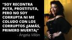 """Ángela Villón: """"Decirle a Marco Arana terruco es como decir que Marisa Glave es actriz porno"""" - Noticias de burdeles"""