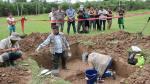 Equipo forense realizó exhumación de un cuerpo en zona de Yanajanca por caso Madre Mía - Noticias de desaparición forzada