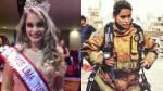 Aspirante a Miss Perú es elogiada por su labor como bombera - Noticias de nathaly terrones
