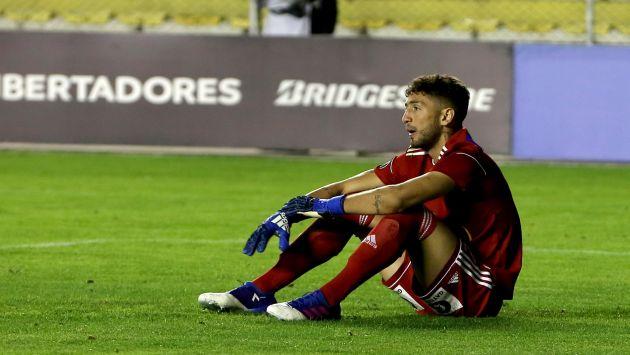 Mauricio Viana y Renzo Garcés no cumplieron con la normativa antidopaje tras la derrota de Sporting Cristal ante Real Garciso por el Apertura 2017. (EFE)