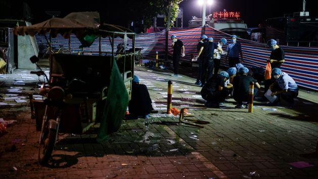 Explosión en guardería dejó siete muertos, entre ellos, el autor de la bomba (Efe).