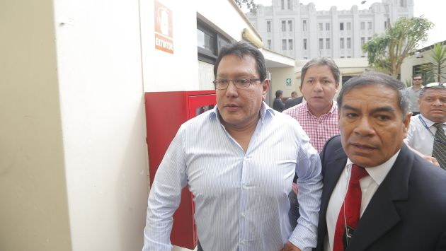 Continúa la investigación al gobernador Félix Moreno (David Huamaní).