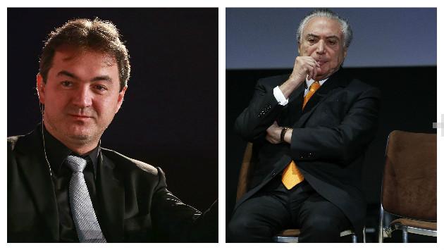 Joesley Batista dio detalles sobre el pago de sobornos al presidente de Brasil Michel Temer (AFP/AP).