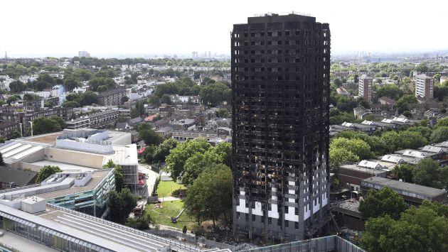 Incendio en Londres dejó 58 muertos según indicó jefe de la Policía (Efe).