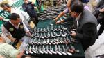 Incautan granadas y ametralladoras de una armería en Surco - Noticias de arco iris