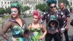 Artistas de Cirque du Soleil se pasean por el Centro Histórico de Lima - Noticias de musica