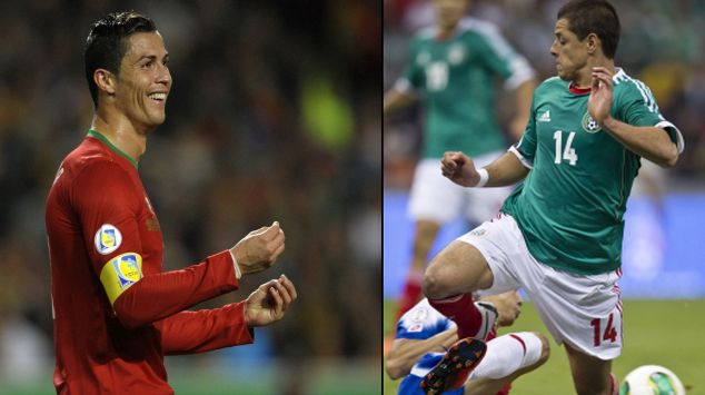 Cristiano Ronaldo comandará ataque de Portugal. (AFP/AP)
