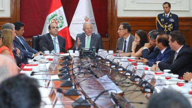 Oficialistas esperan cambios en el gabinete en julio. (Andina)