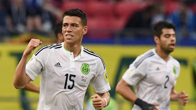 Moreno marcó en los descuentos del partido. (AFP)