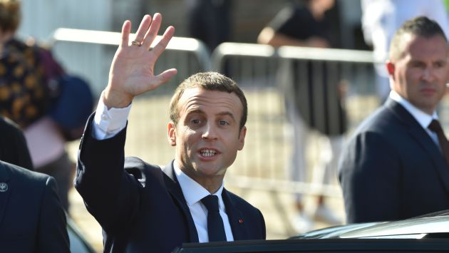 Emmanuel Macron, presidente de Francia (AFP).