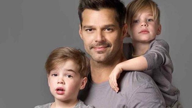 Ricky Martin: Recuerda la emotiva carta de amor que le escribió a sus hijos. (USI)