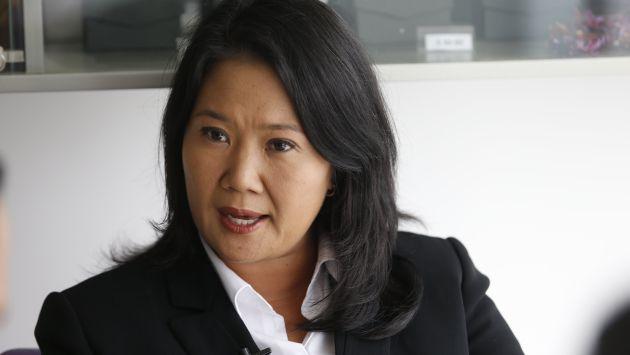 Keiko Fujimori visitó a Alberto Fujimorio en la Diroes por el Día del Padre. (USI)