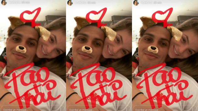 'El Depredador' escribe un nuevo capítulo en su vida amorosa. Esta vez con la brasileña Thaísa Leal. (Instagram Lealthaísa)