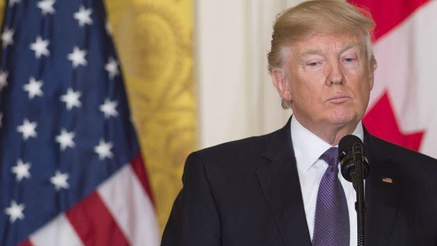 """Donald Trump defiende su gobierno y denuncia una """"cacería de brujas"""" (AFP)"""