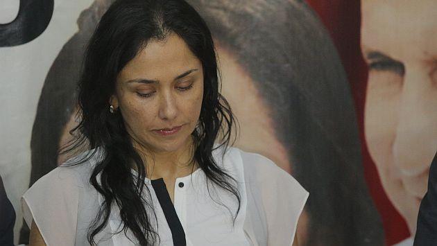Nadine Heredia será investigada. (Luis Centurión)