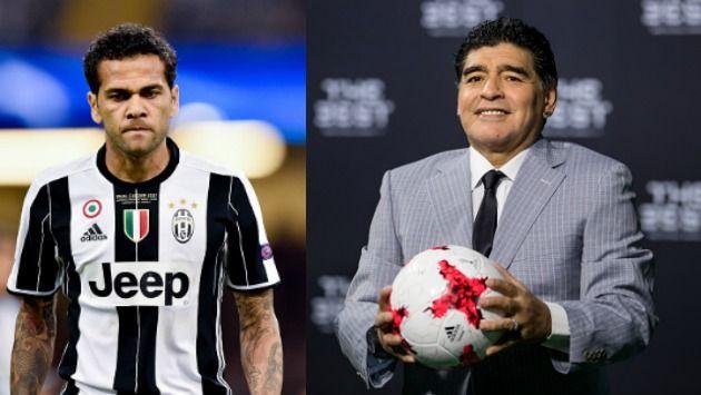 Diego Maradona no aguantó las palabras de Diego Alves. (Getty Images)