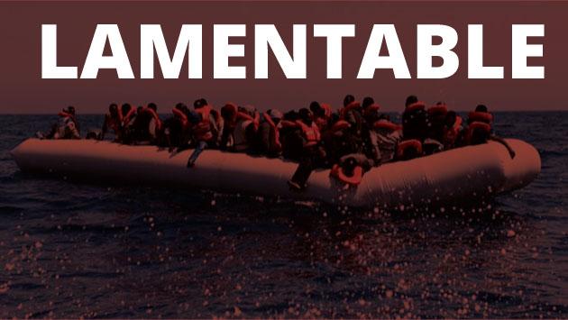 Unos 130 migrantes, en su mayoría sudaneses, embarcaron el jueves en Libia en un bote neumático que naufragó.