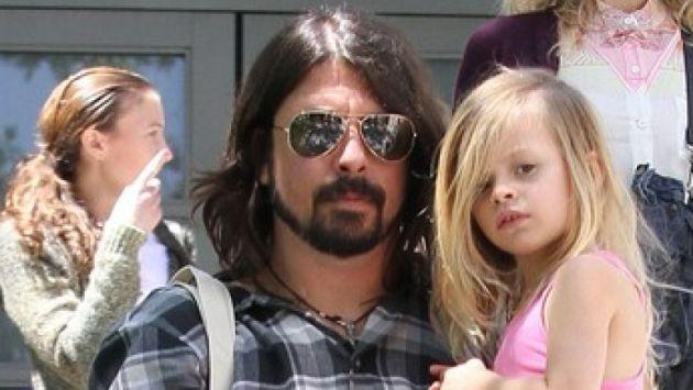 Harper, la hija de 8 años de Dave Grohl, tocó la batería junto a Foo Fighters. (Agencias)