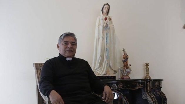 Párroco Luis Ayala habla sobre la esperada visita del sumo pontífice a Perú. (Piko Tamashiro/Perú21)