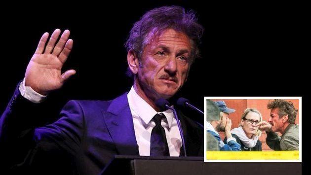 Sean Penn tuvo un ataque de furia contra el novio de su hija, Jimmy Giannopoulos. (Getty)