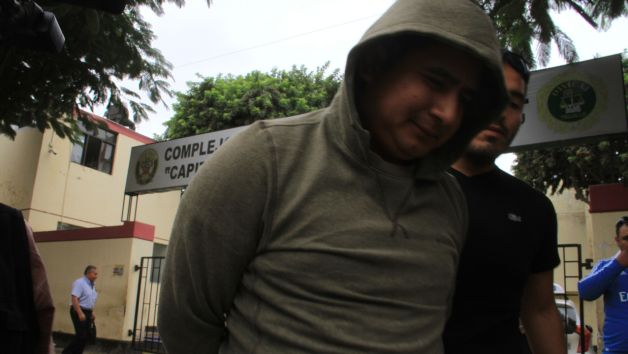 Arnaldo Linares negó que su pistola haya sido usaba en el crimen del magistrado. (Alan Benites)