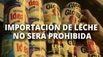 Leche evaporada no subiría de precio - Noticias de producción de leche en perú
