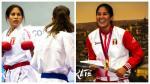 ¡Orgullo! Peruana Alexandra Grande obtuvo medalla de oro en la Premier League de Karate - Noticias de alexandra grande