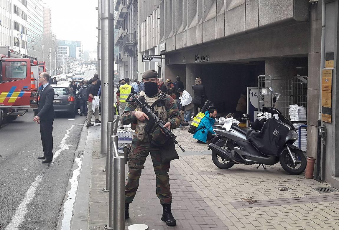 Bélgica: Explosión en estación de trenes fue clasificado como 'ataque terrorista'. (AFP)