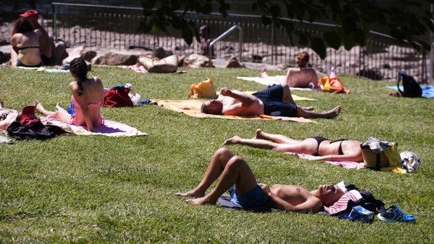 Ola de calor invade Europa con altas temperaturas (EFE)